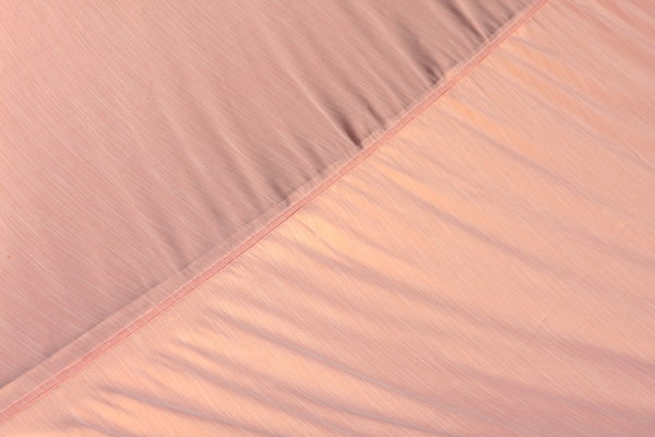 SALE!!! Sonnensegel - orange gestreift - 350cm x 350cm -